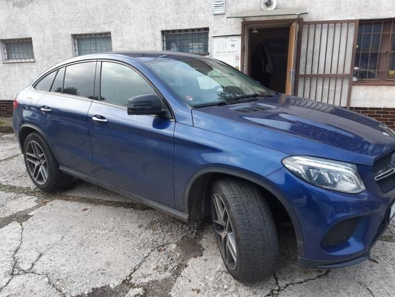 Mercedes Benz GLE 350 d 4MATIC kupé